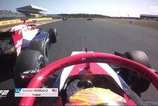 Haas-Nachwuchsfahrer rastet komplett aus: 4 Rennen Sperre