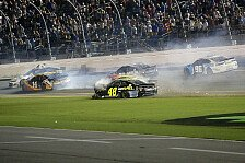NASCAR - Video: NASCAR 2018: Crash-Festival in Daytona mit mehreren Big Ones