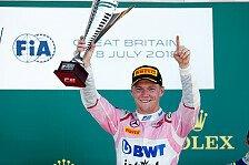 Formel 2: Macau-Sieger Ticktum ersetzt Max Günther in Abu Dhabi