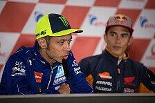 MotoGP - Marc Marquez: Wünsche mir Frieden mit Valentino Rossi