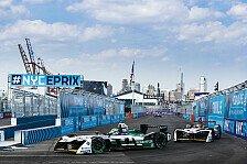 Formel E 2018: Vergne ist Meister - Audi-Doppelsieg in New York