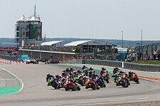 MotoGP: Autofahrer landet auf Sachsenring, hängt im Kies fest