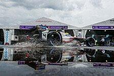Schlechtes Wetter in New York: Formel-E-Finale unterbrochen