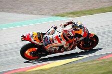 MotoGP Sachsenring 2019: Marquez schlägt zurück - FP2-Bestzeit