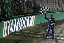 NASCAR: Fotos Rennen 19 - Kentucky Speedway Night Race