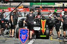 Formel 1 - Haas vs. Renault in Hockenheim: Halten die Reifen?