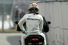 Formel 1 Hockenheim: Hamilton nicht schuld an Technik-Drama