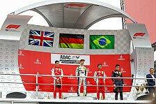 ADAC Formel 4 im Rahmen der Formel 1: Zendeli siegt in Lauf 2