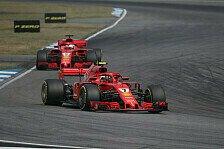 Formel 1 2018: Räikkönen & Vettel völlig verwirrt von Ferrari