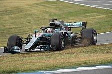 Formel 1, Hockenheim: Hamilton entgeht Strafe und behält Sieg