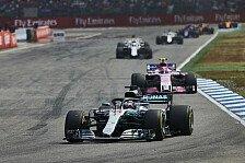Formel 1 Hockenheim: Pirelli nominiert mittelharte Reifen