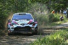 Rallye Finnland 2018: Tänak sichert sich zweiten Saisonsieg