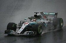 Formel 1, Ungarn: Hamilton im Regen auf Pole, Vettel enttäuscht