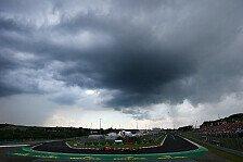 Formel 1 - Wetter Ungarn 2019: Regen auch im Qualifying?