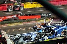24h Spa 2018: Schwerer Unfall - 2 Fahrer erleiden Knochenbrüche