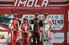 Dreifach-Rookiepodium für BWT Mücke Motorsport in Imola