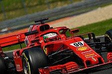 Formel 1 Ungarn: Giovinazzi beeindruckt von Ferrari-Entwicklung