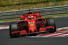 Formel-1-Test Ungarn 2018: Ferrari-Hammer, Crash, 2019er Flügel