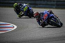 MotoGP Silverstone 2018: Vinales und Rossi im 1. Training voran