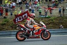 MotoGP-Vergleich: Marquez vs. Rossi nach 100 Rennen