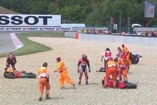 MotoGP - Rätselraten um Dreierkollision Vinales, Bradl, Smith