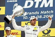 DTM Brands Hatch 2018: Juncadella gewinnt Samstags-Rennen