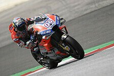MotoGP Spielberg 2018 - Warm Up: Dovi-Bestzeit, Marquez stürzt