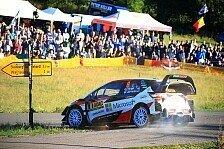 WRC Rallye Deutschland 2018: Tänak mit Bestzeit auf Prüfung 1