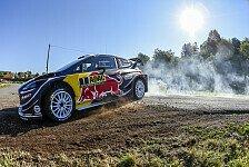 WRC-Pilot Sebastien Ogier zwischen Rundstrecke und Rallyesport