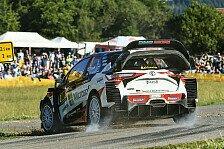 WRC Rallye Deutschland 2018: Tänak führt vor Ogier und Neuville