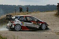 WRC Rallye Deutschland 2018: Latvala zieht an Neuville vorbei