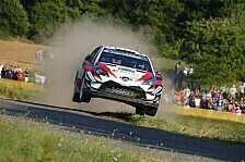 WRC Rallye Deutschland 2018: Sieg für Toyota-Pilot Ott Tänak