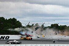 IndyCar: Wickens operiert - Rückenmarksverletzung unbestimmt