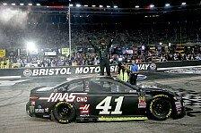 NASCAR Bristol: Kurt Busch gewinnt das Kolosseum-Nachtspektakel