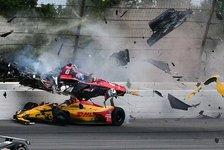 Nach IndyCar-Unfall: Wickens in anderes Krankenhaus verlegt