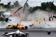 IndyCar - Wickens-Unfall: Die Gefahr lauert im Oval