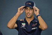 F1, Ricciardo beteuert: Flüchte nicht vor Verstappen zu Renault