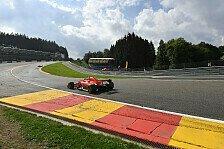 Formel 1 Spa: Vettel im 1. Training vor Verstappen und Hamilton