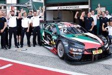 Alex Zanardi in Misano: DTM-Auto bräuchte 200 PS mehr