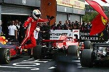 Formel 1 Highlights: Die 25 besten Fotos aus Spa-Francorchamps
