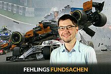 Formel 1, Fehlings Fundsachen: Irre Startunfall-Fotos in Spa