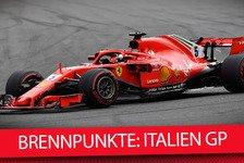Formel 1, Italien GP 2018: Die heißesten Fragen vor Monza