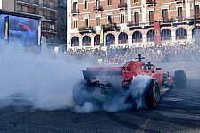 Formel 1 Italien GP 2018: Fan-Event in Mailand mit Vettel