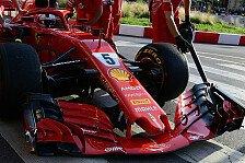 Formel 1: Sebastian Vettel crasht bei Showrun in Mailand