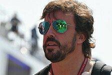 Formel 1, Alonso in Monza: Hatte nach Spa-Crash Schmerzen