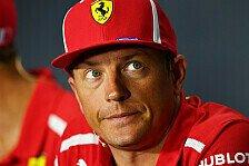 Formel-1-Gerücht: Kimi Räikkönen weicht jetzt doch Leclerc