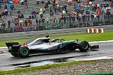 Formel 1: Mercedes schont Motor - Hamilton döst in Monza ein