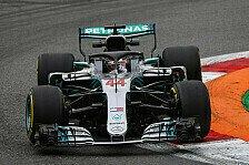 Hamilton fehlt Speed: Mercedes gut, Ferrari einfach zu schnell