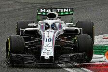Formel 1, Stroll feiert Monza-Quali: 'Fuck! Bin durchgedreht!'