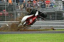 Formel 1 Monza, Crash: Ericsson überschlägt sich im Training